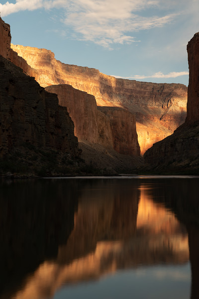 Grand Canyon sunset on the Colorado River