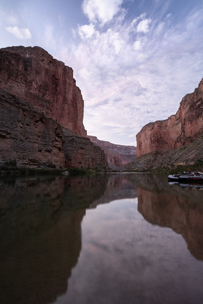 Sunrise in the Grand Canyon with Hatch Expeditions