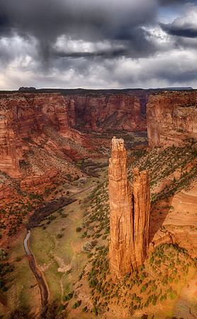 Spider Rock, Canyon de Chelley, AZ
