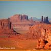 Hunts Mesa View - Setting Sun