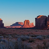 Waking the giants. Monument Valley