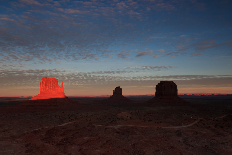 """The View"" - John Wayne Point - Monument Valley"