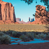 Sacred Land. Monument Valley