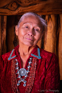 Navajo Woman Closeup