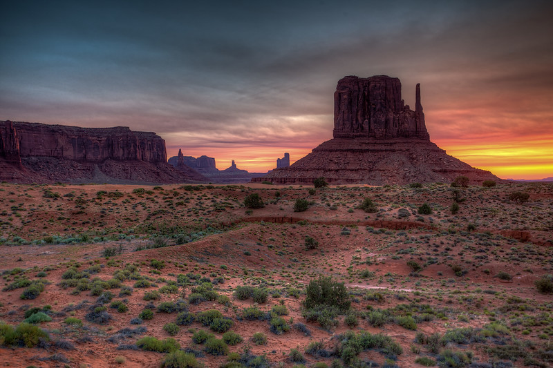 Sunrise at the West Mitten