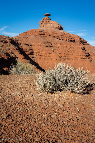 Mexican Hat. Monument Valley