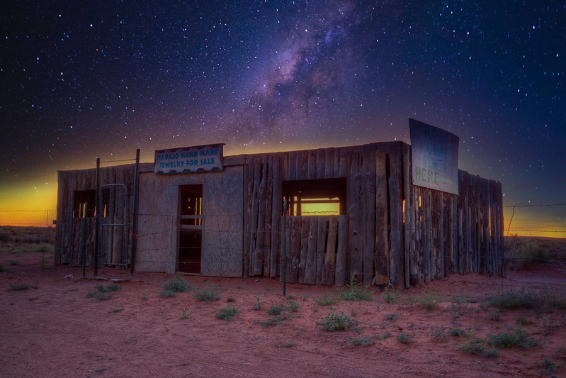 Abandoned Navajo Jewelry Stand