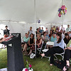 HOLLY PELCZYNSKI - BENNINGTON BANNER Members of Shires housing, The VT Housing board, legislative staff and community members of Bennington gather together to celebrate the opening of Monument View apartments in Bennington.