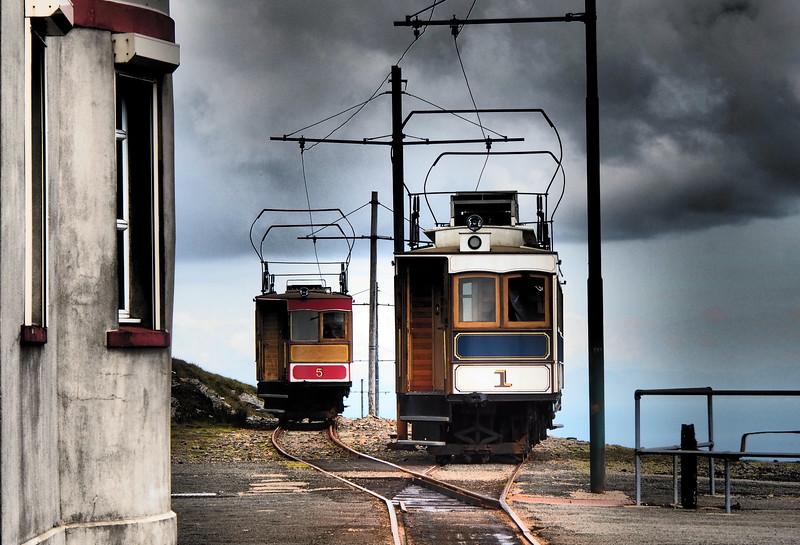 The Snaefell Mountain Railway