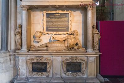 Inside Bristol Cathedral