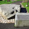 St Patrick's Grave. Downpatrick, County Down