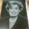 Polished Absolute Black Granite with Laser-Etched Photo by Schlitzberger
