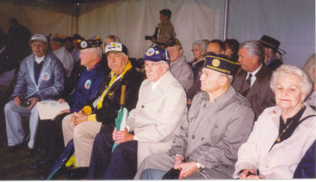 Many Battle of the Bulge Veterans and guests attended this Dedication.