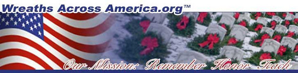 WREATHS ACROSS AMERICA  - 2007<br />  <br /> Vans arrived in Foxboro, MA on Monday from Maine on its journey to Arlington Cemetery , VA.<br /> <br /> The wreaths will be distributed to hundreds of volunteers to be placed at the burial stones of our beloved veteran Heros. <br /> <br /> The Cent. Mass. Chapter-22, Veterans of the Battle of the Bulge will be represented at the Cemetery when the parent Organization pays their respects at The Wreath Laying at the Tomb of the Unknown Soldier and at their own Monument, a gift of the Belgium and Luxembourg Governments.<br /> <br /> Message from one of our 87th ID Veterans - John McAuliffe:<br /> <br /> We are the Central Mass. Chapt.-22 Veterans of the Battle of the Bulge. <br /> We shall join our comrads at Arlington, VA on December 13-17 for the annual <br /> Commemorative Ceremony of the VBOB <br /> and lay wreaths at the Unknown Soldiers Monument and then at our Monument at Arlington Cemetery. <br /> <br /> Our Monument is a gift of the Belgium and Luxembourg Governments whom US soldiers liberated from the Nazis in WW-II.<br /> My cousin, Mary McAuliffe of Nevada voliunteered to lay wreaths this year.<br /> <br /> Our National President is Stan Wojtusik, who is on the Board of Directors of Wreaths of America. <br /> We are privilaged to join in honoring all our Veterans at this time of year. <br /> <br /> Respectively,<br /> John E. McAuliffe, President, Cent. MA Chapter-22 VBOB