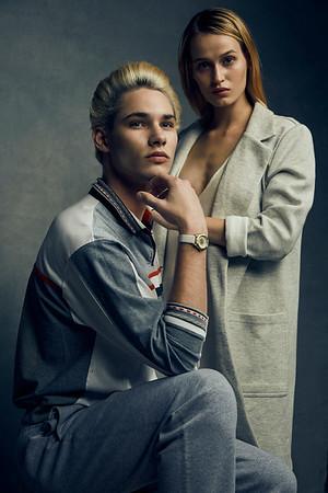 Katya Estes and Justin Sinkler