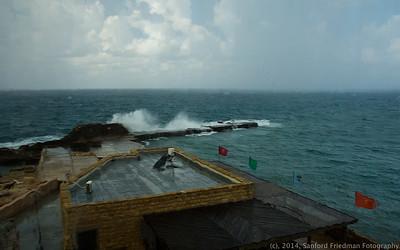 Storm in Caesarea