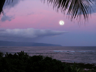 Moon Set from Sunset Point  2013.May.25 5:40 am