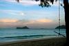 Full Moon Rising over Rabbit Island<br /> off Waimanalo Beach
