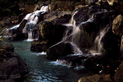 Falls in Waikiki  O'ahu, Hawai'i