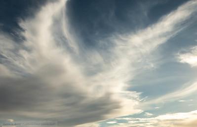 Clouds over Haka haka Bay