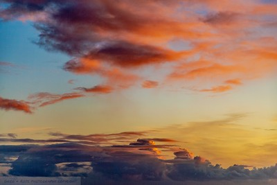 Morning cloud over the Hauraki Gulf