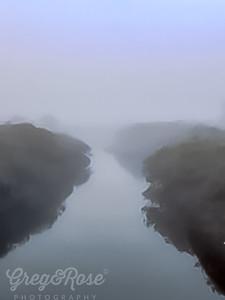 Fog in Wairua Creek