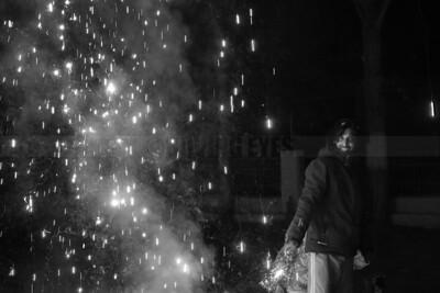D39:Celebrating Diwali, the festival of lights in Kaza,Spiti,Himachal Pradesh