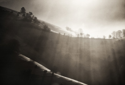 Moodscape With Hills