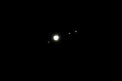 Jupiter & moons - October 17, 2010