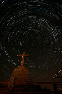 Star Trail Corran Hill