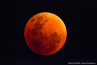 Red Super Moon Eclipse