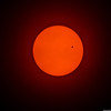 There's A Little Black Spot On The Sun Today<br /> Venus transit 6-05-12