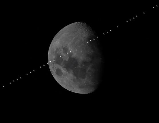 ISS Transit 4-16-2016