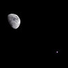 Moon in conjunction with Jupiter 2019