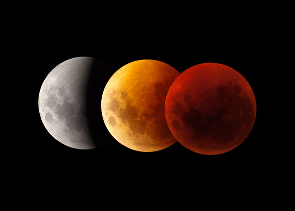 Total Lunar Eclipse from Mt Buffalo, 16th June 2011.