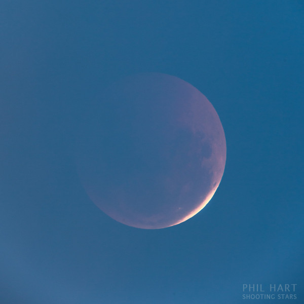 Lunar Eclipse in Twilight