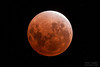 End of total phase of lunar eclipse