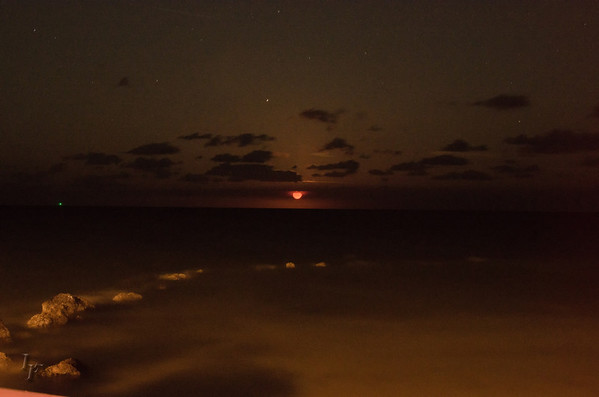Key West Moon Rise