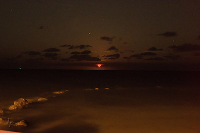 Key West Moon Rise