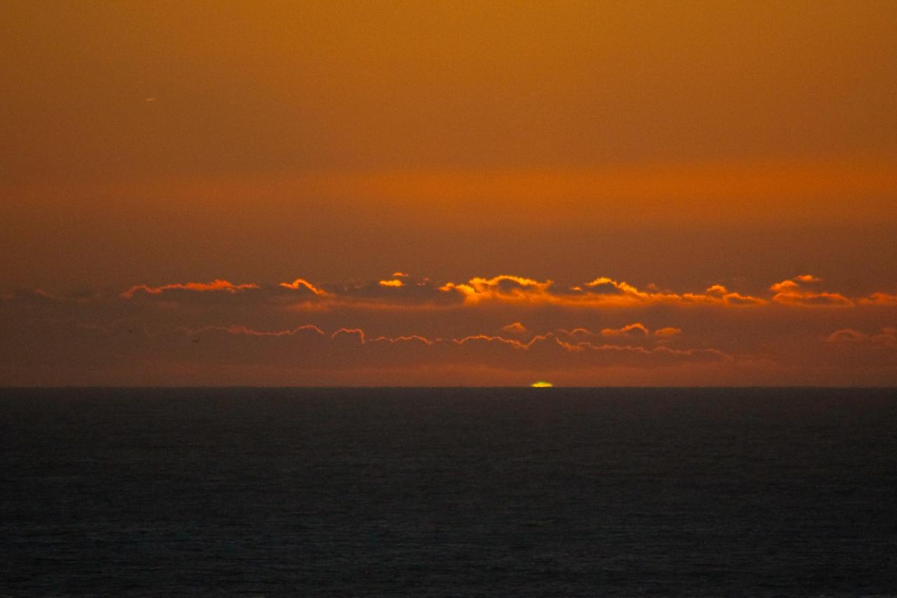 Green Flash Sunset | Tim Cattera Photography