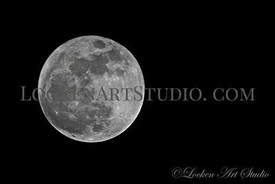 Moon January 1, 2018 Photo 10 - 9:30pm