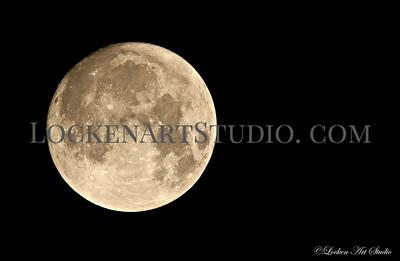 Moon January 1, 2018 Photo 3 - 2am