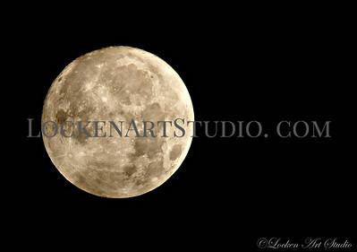 Moon January 1, 2018 Photo 2 - 2am