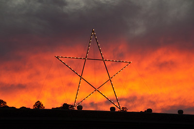 sunset-star
