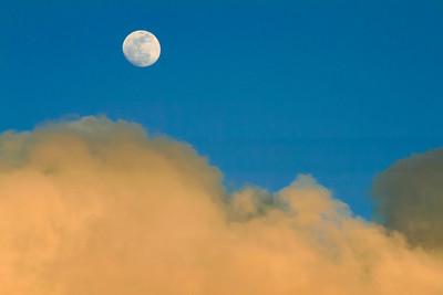 Moon Sun and Rainbows