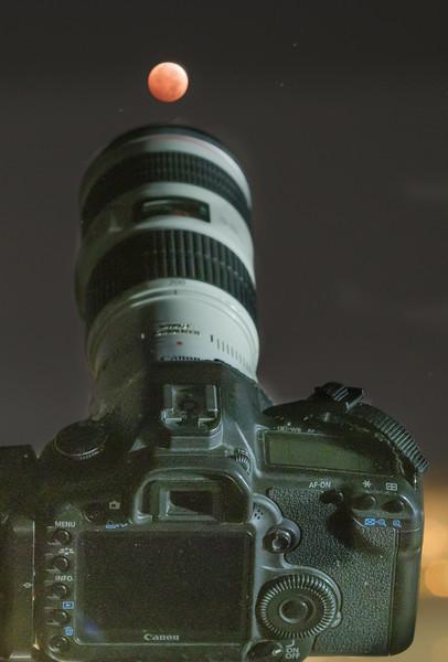 Shooting the Lunar Eclipse, Berkeley CA