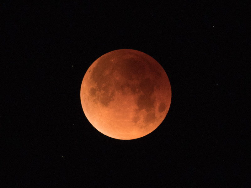 Total Lunar Eclipse, January 31 2018