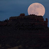 Steamboat Rock Full Moon