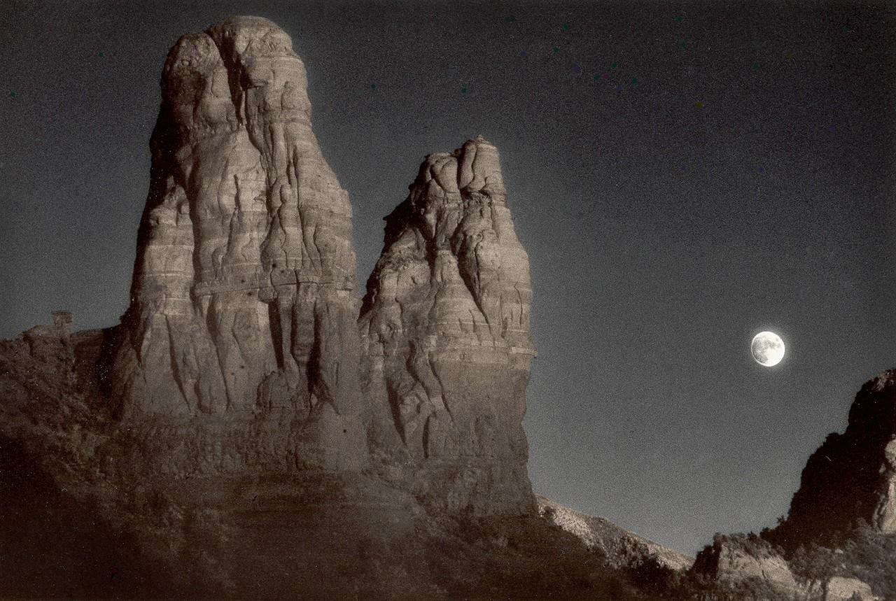 Rising Moon, Sedona, Arizona