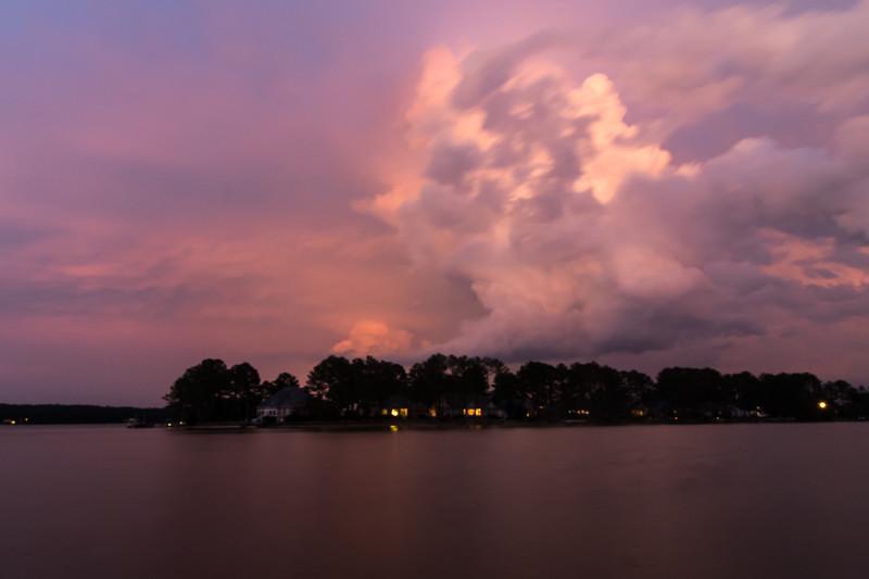Storm at Woodlake
